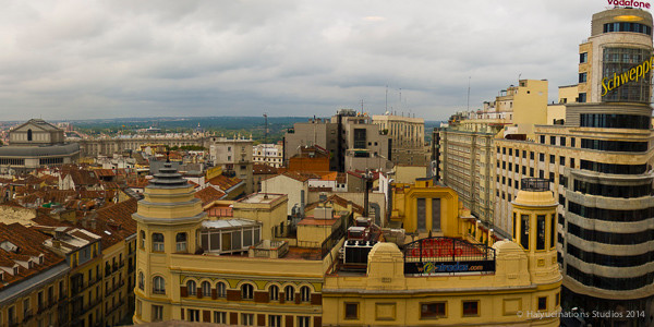 Rooftops of Madrid