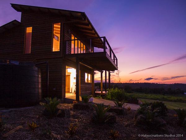 Real Estate: Farm Homestead atDusk