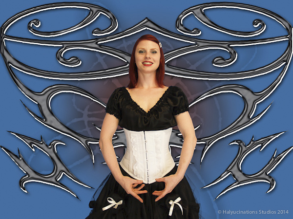 Minney Corset with bras bas