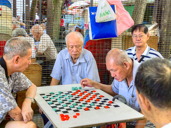 Draughts are a relief in Singapore heat!