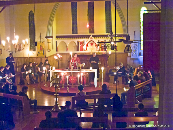 "<span class=""caps"">ST</span> Luke's Goth Mass"