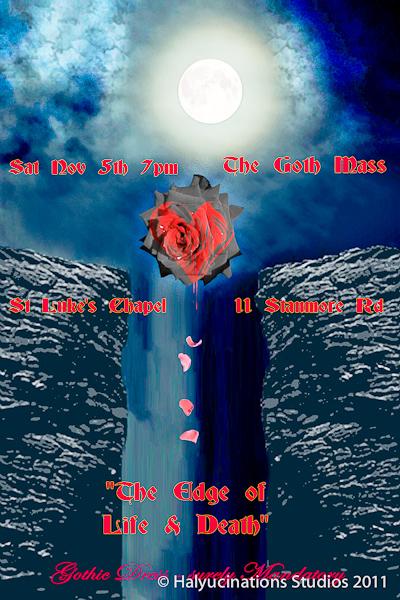 An Advertisement for St Luke's GothMass