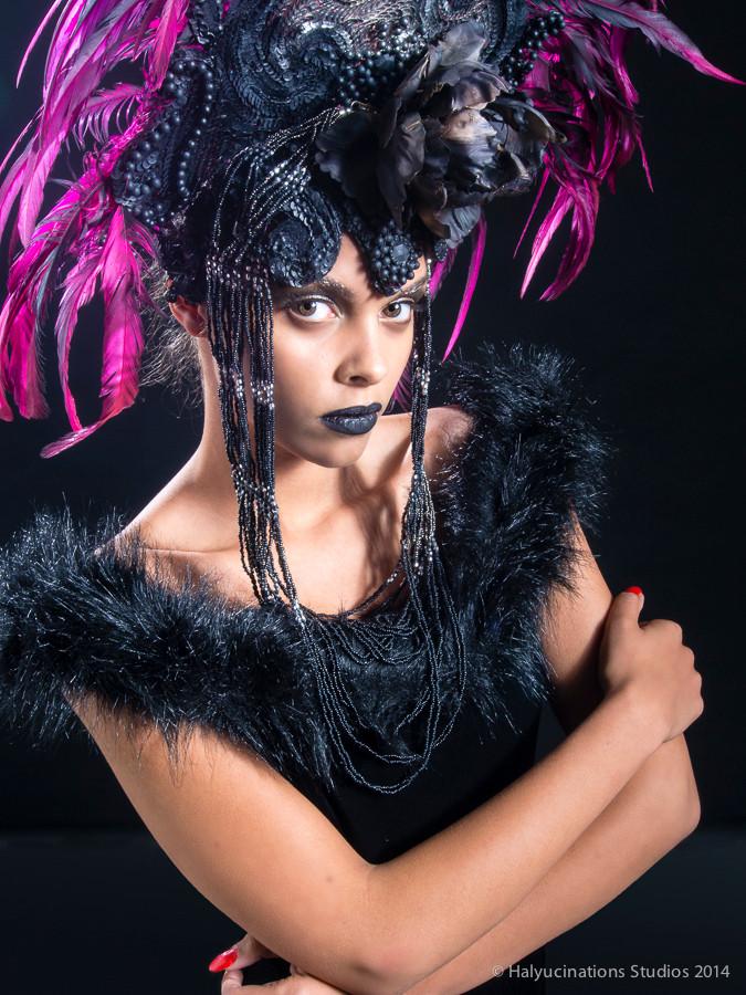 Dark night beauty crowned in darkglory