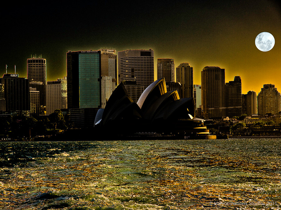 Sydney from the Harbour